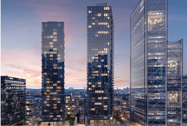 High-rise elevators in Toronto