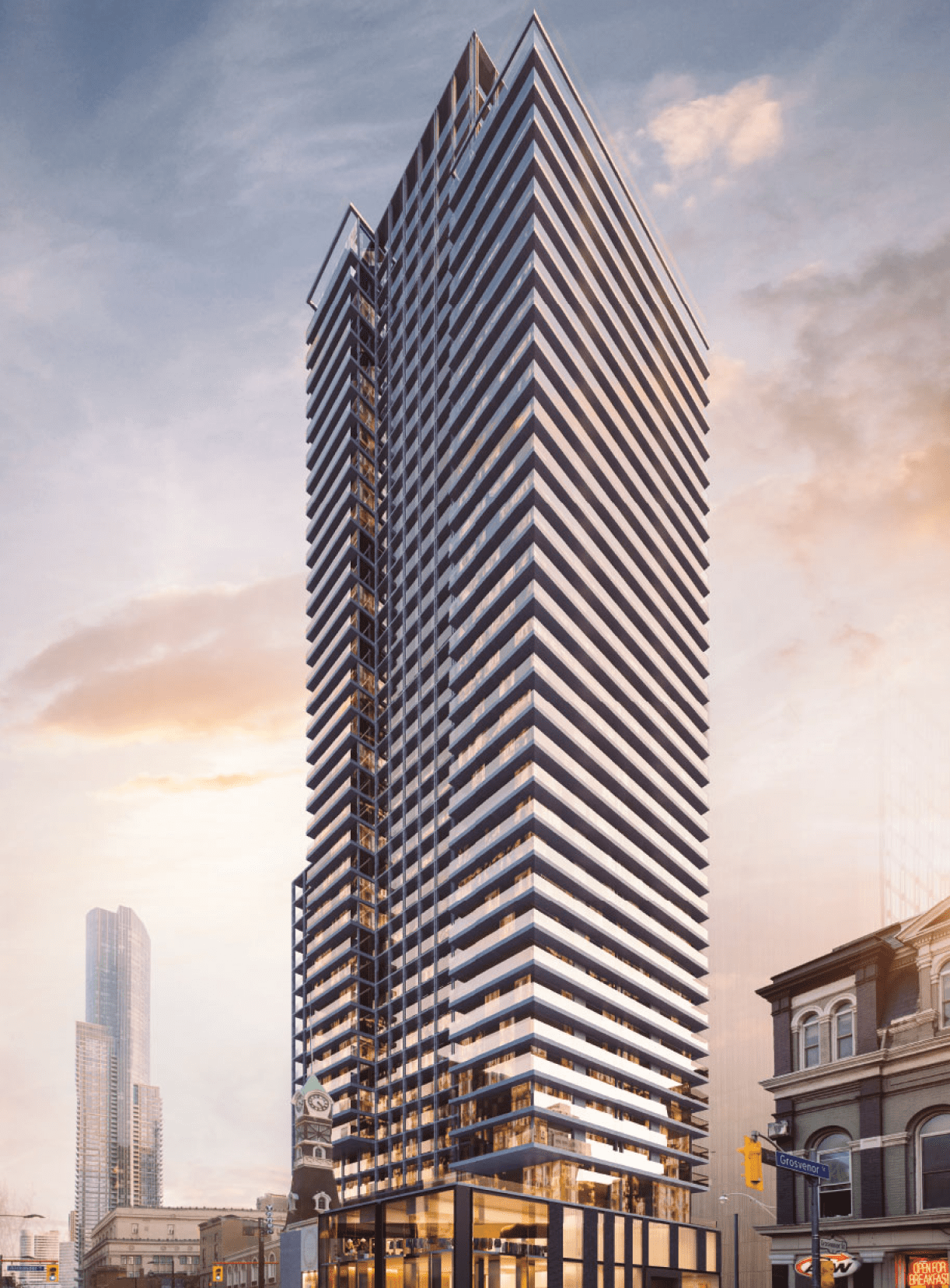 Elevator new construction in Toronto